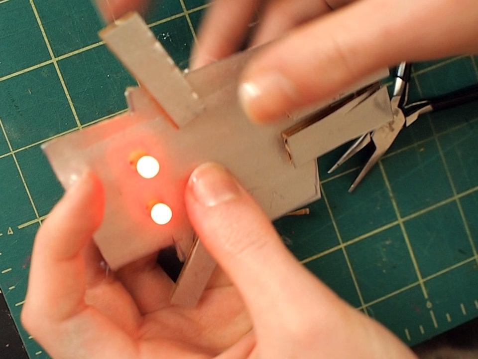 LED Robot Ornament
