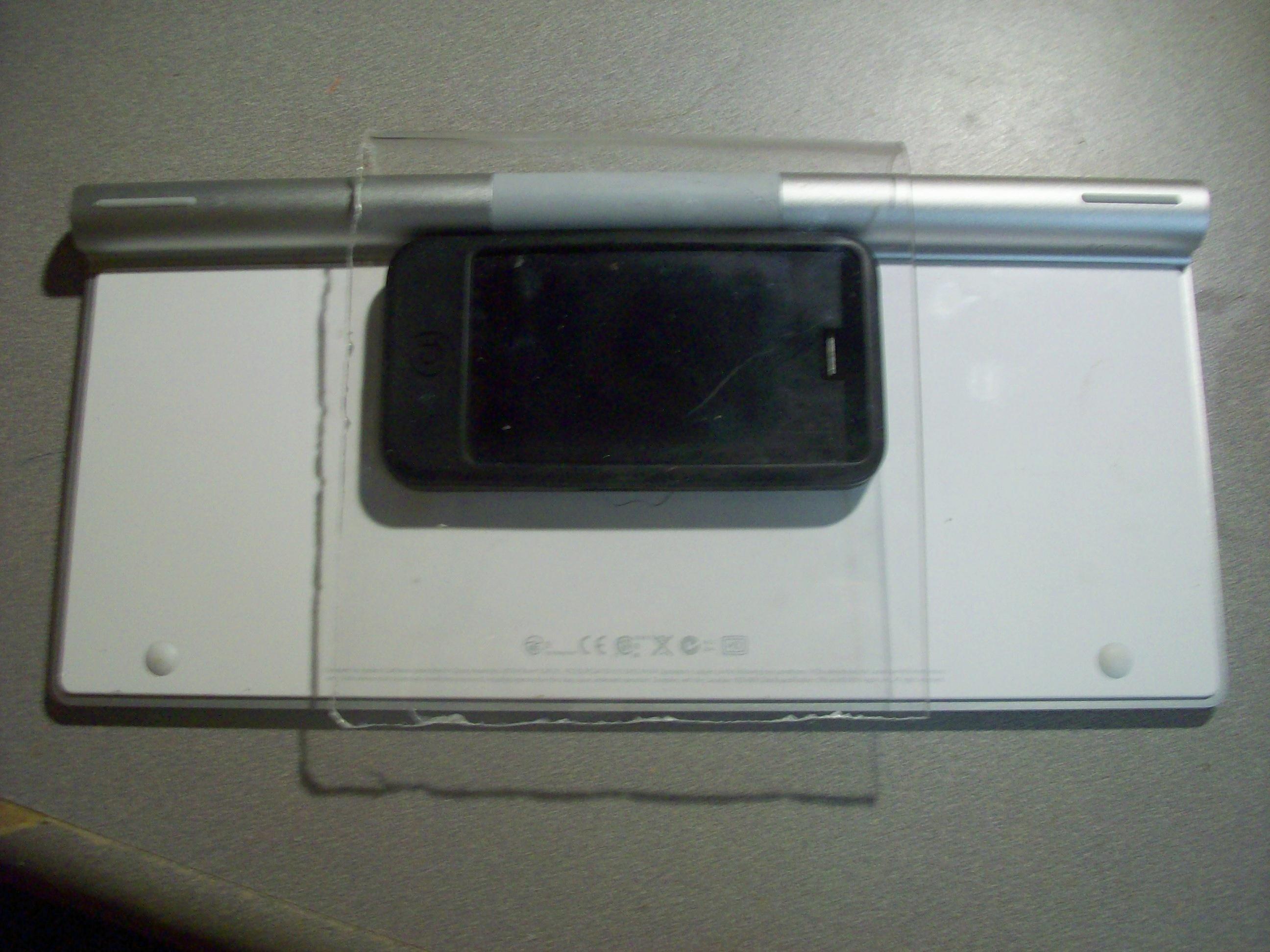 iPhone Keyboard Stand