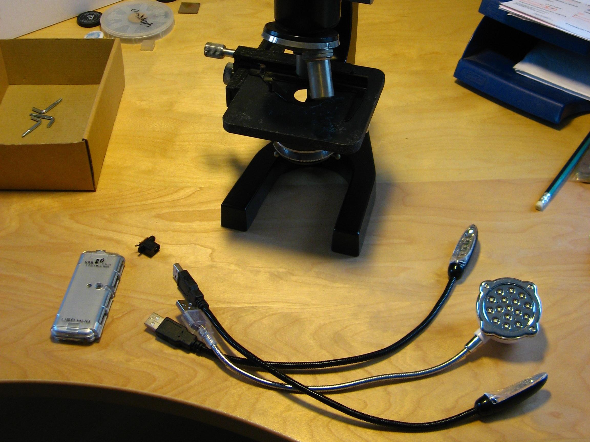 Retrofit a Microscope