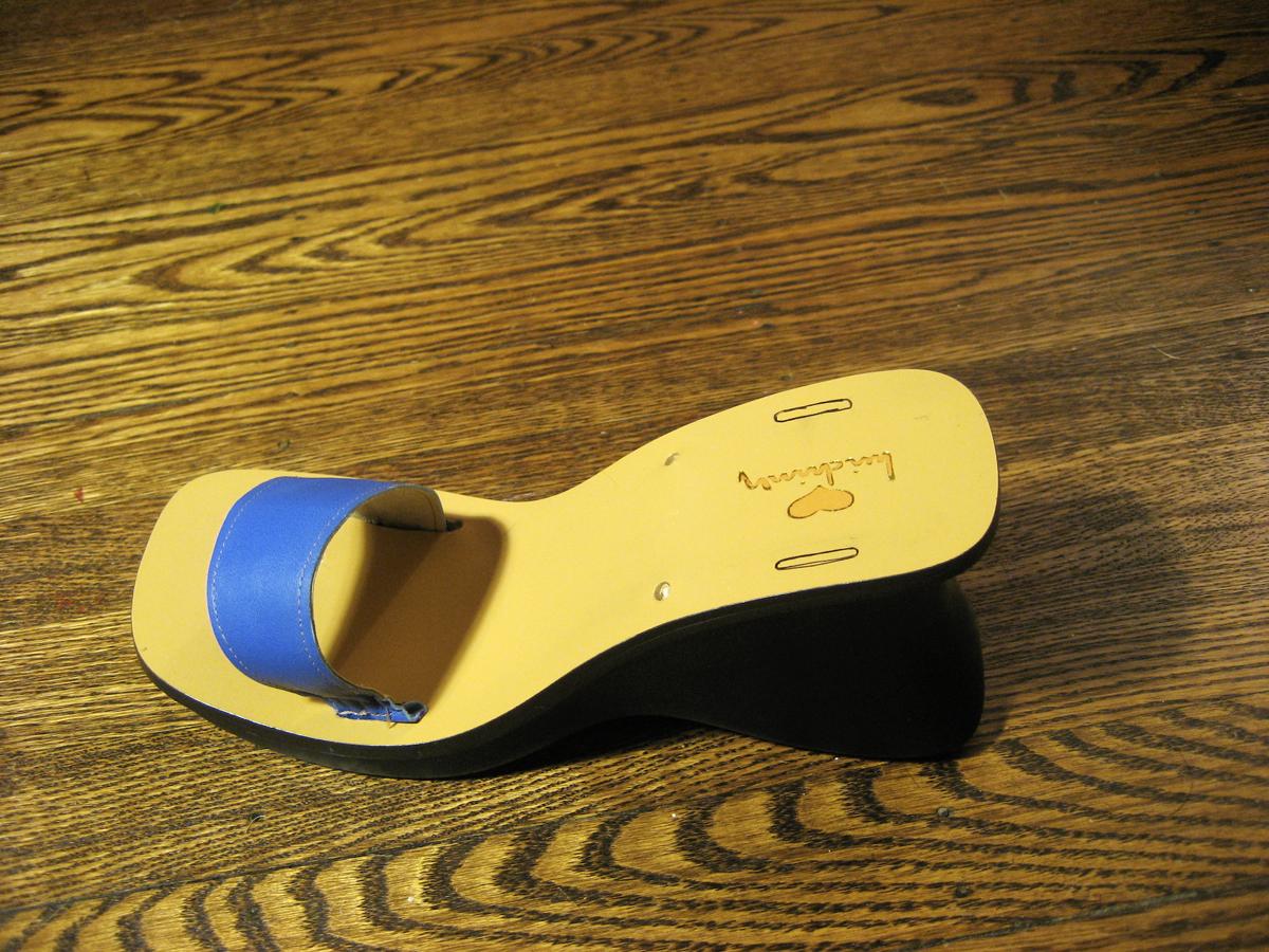 Old Sole, NewShoe