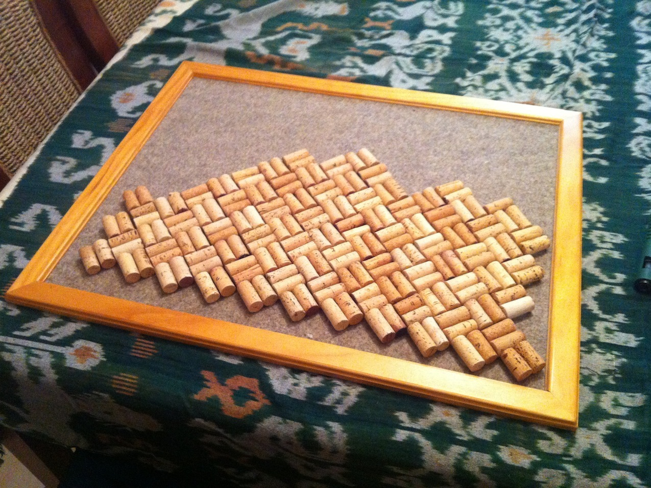 New Project: Wine Cork Board