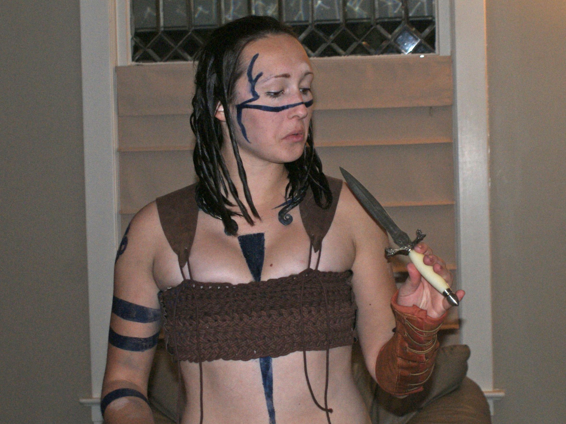 Celtic Warrior Costume (entirelyhandmade)