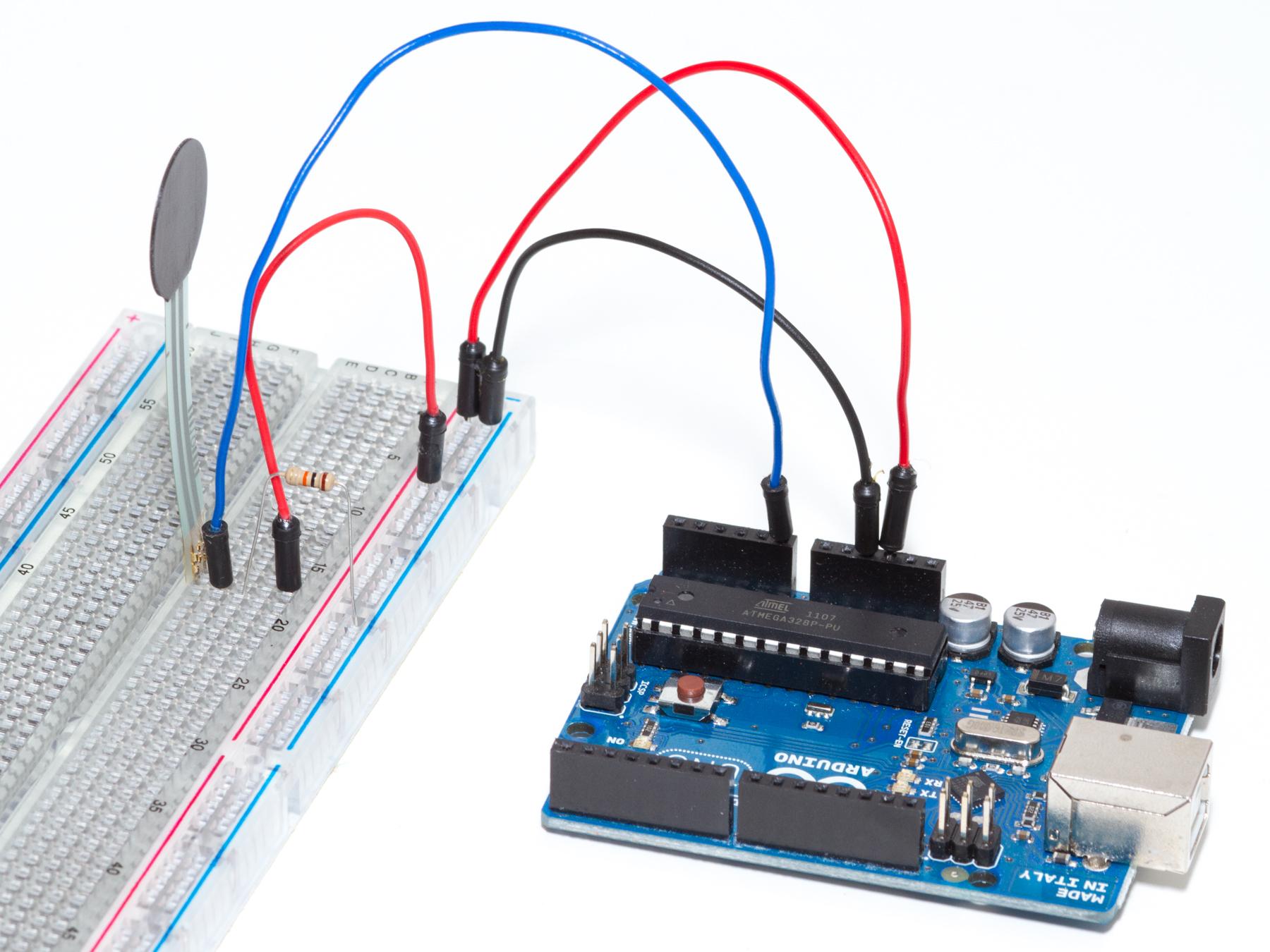 Control a Servo with a Force-SensitiveResistor