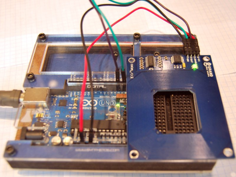 New Project: Using the Parallax RFID Reader with an Arduino