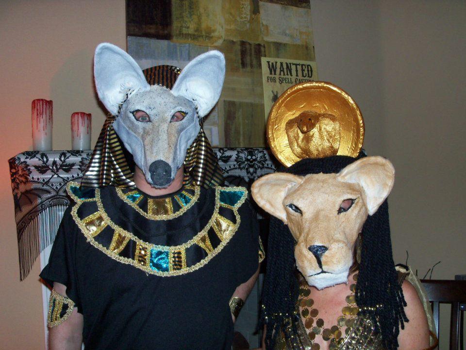 Egyptian God and GoddessMasks