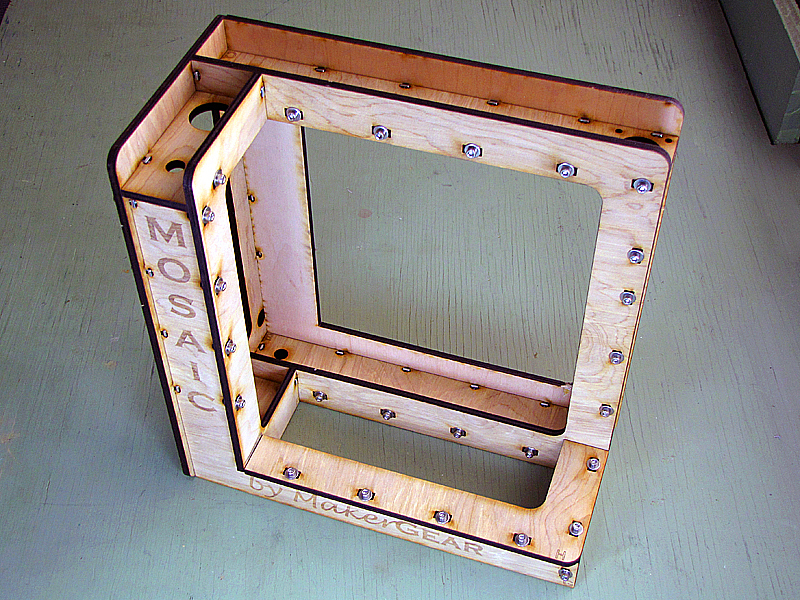 The MakerGear Mosaic 3D Printer  – Part I: TheFrame