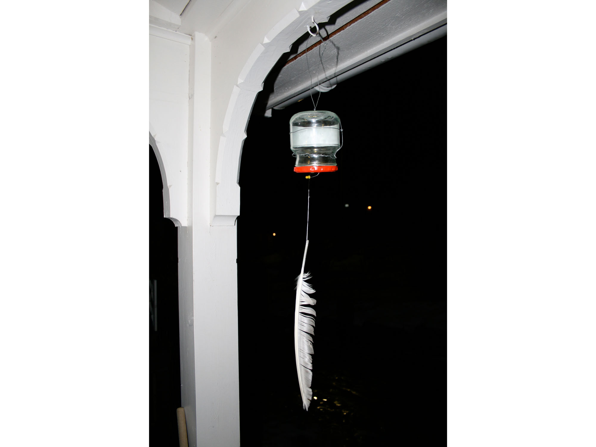 Wind-Triggered Lantern
