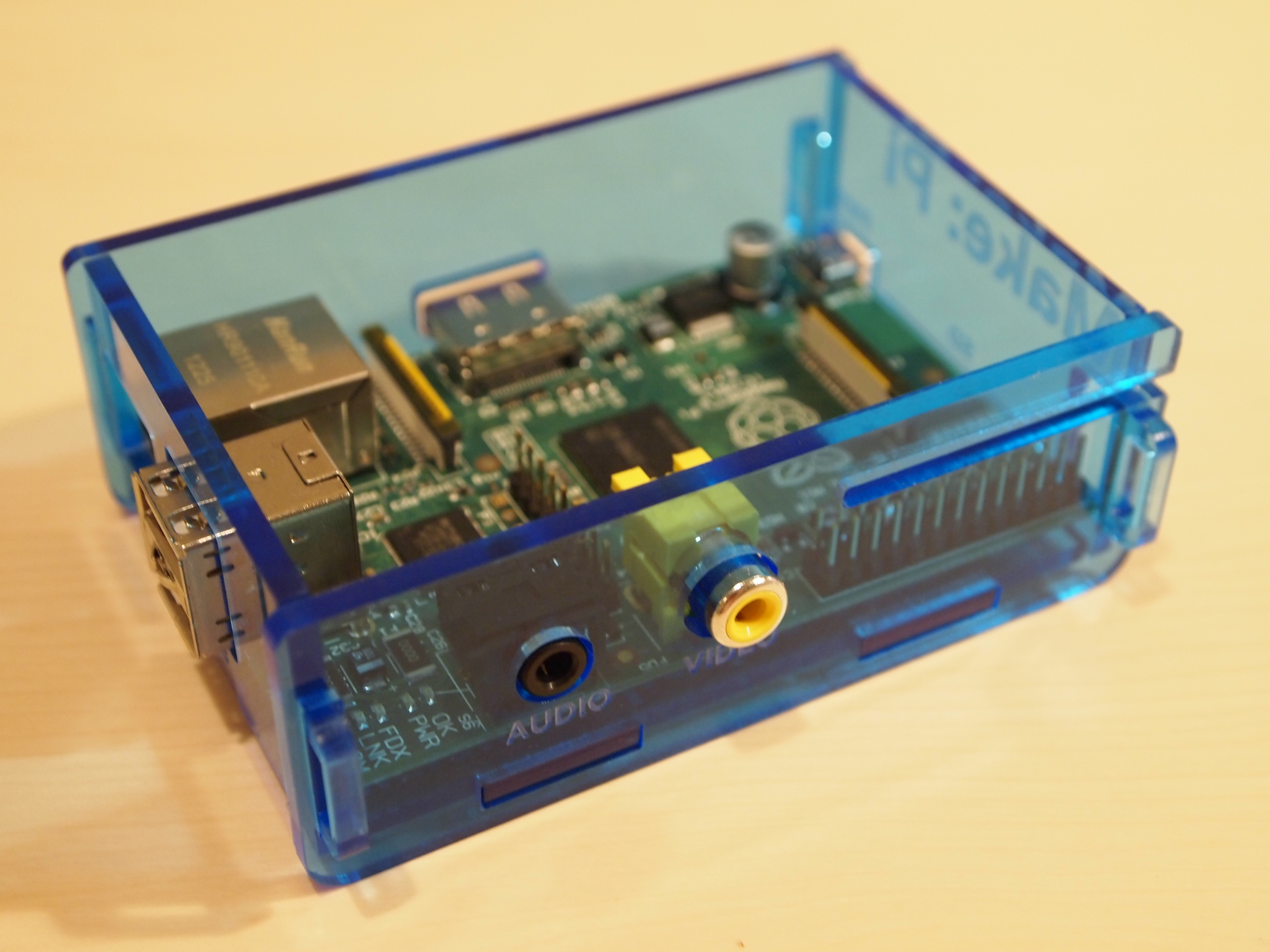 Raspberry Pi Enclosure v1 Assembly