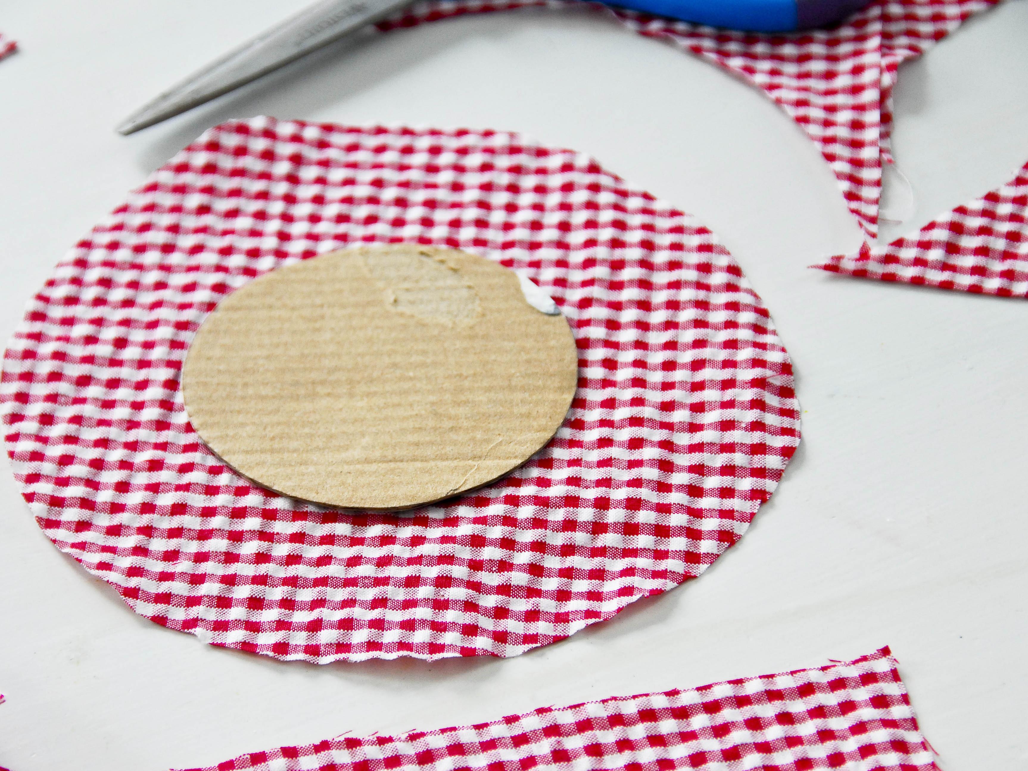 Sewing kit in aJar