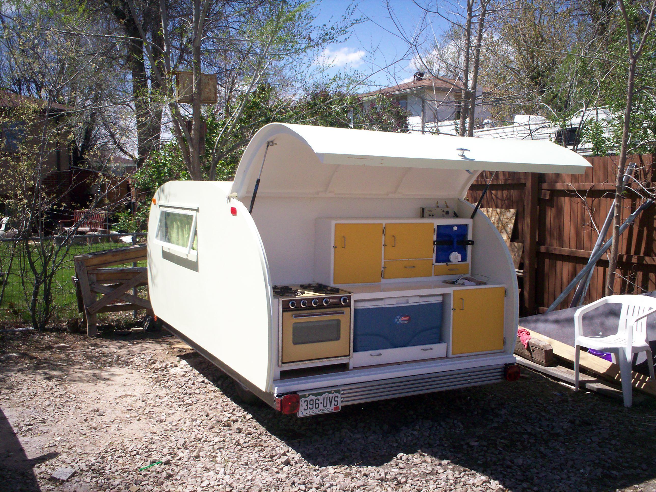 New Project: Teardrop CamperTrailer