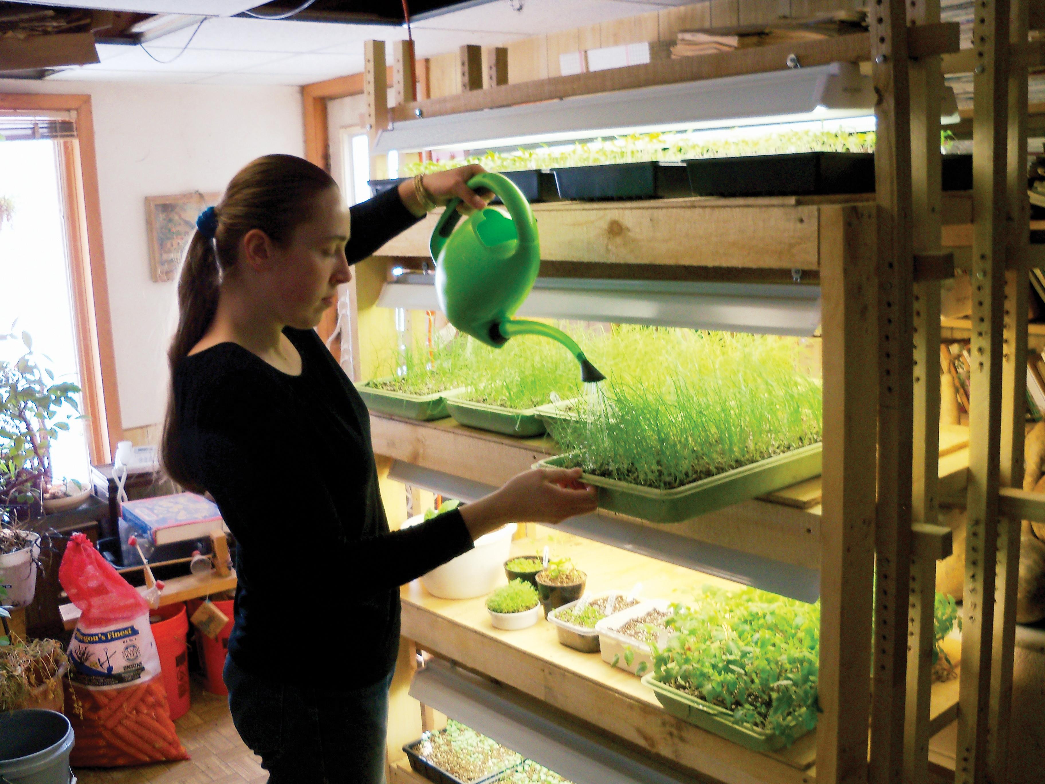 Plant Light Stand Make